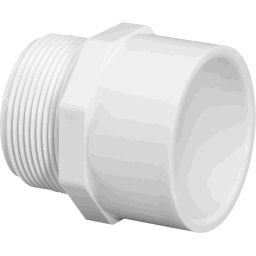 Pvc Sch 40 Slip X M Npt Male Adapter