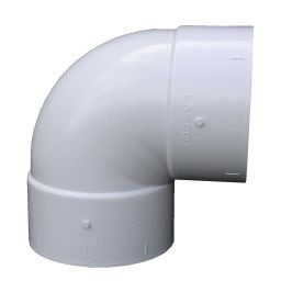 "PVC sch-40 Slip 90 degree Elbow (1/2"" - 2"")"