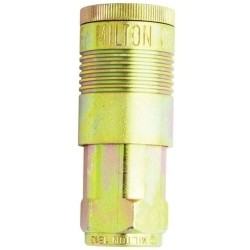 "S1815 Milton 1/2"" Female ""G"" style Coupler"